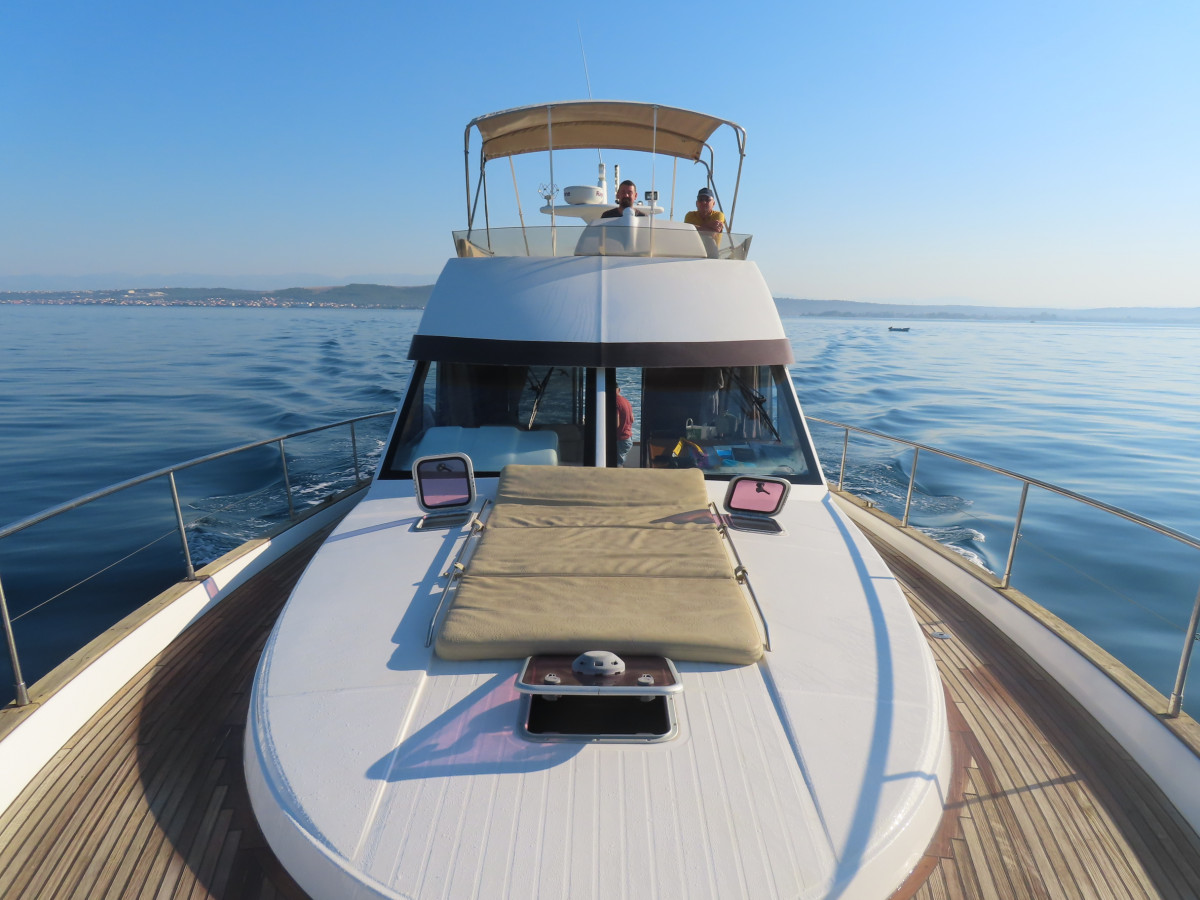 Motorboottörn in Kroatien mit Skipper Cyrill